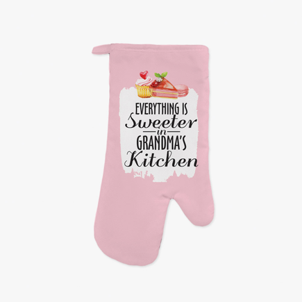 Sweeter Kitchen Personalized Oven Mitt