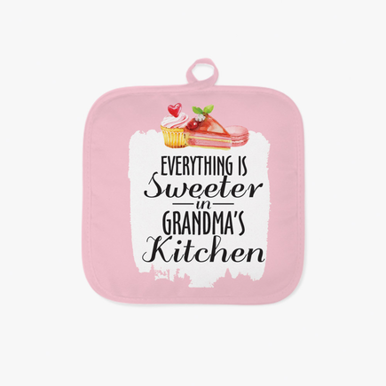Sweeter Kitchen Personalized Pot Holder
