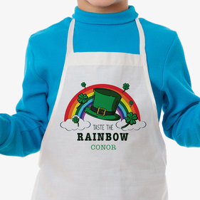 Taste The Rainbow Personalized Kids Apron