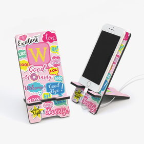 Text Me Custom Cell Phone Stand