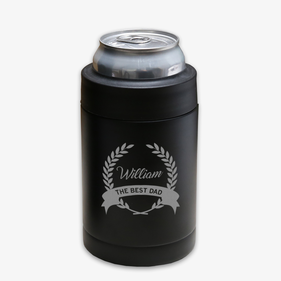 The Best Dad Custom Vacuum Insulated Beverage Holder