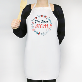 The Best Mom Personalized Adult Apron