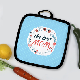 The Best Mom Personalized Pot Holder