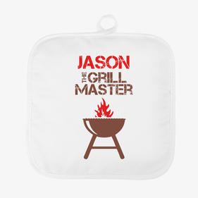 The Grill Master Personalized Pot Holder