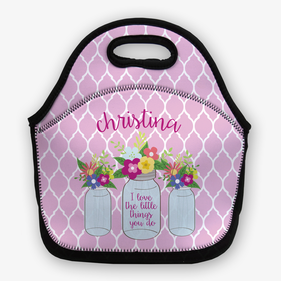 The Little Things Personalized Lunch Bag