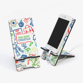 Think Bright Personalized Cell Phone Stand