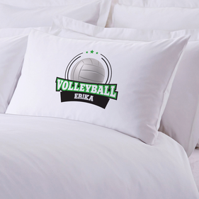 Volleyball Personalized Sports Pillowcase