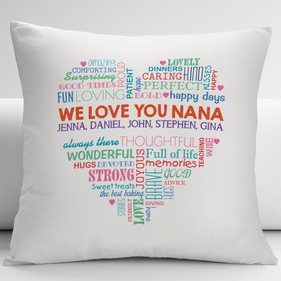 We Love You Nana Decorative Cushion Cover