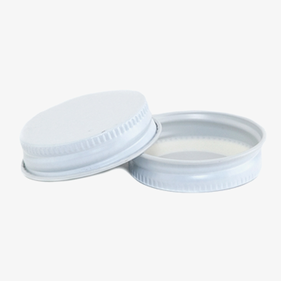 White Plastisol Growler Lid
