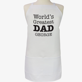 World's Greatest Dad Personalized Apron