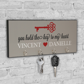 You Hold The Key To My Heart Custom Key Hanger