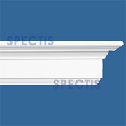 "Spectis Moulding Cap Part B Trim MD1597B or MD 1597B Moulding - 1 3/8""P X 3 1/2""H X 12'0""L"