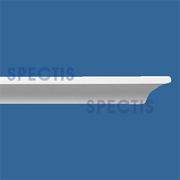 "Spectis Moulding Half Nose Trim MD1124 SPLIT - 3/4""P X 3/4""H X 12'0""L"