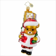(SOLD OUT) A Bear Who Cares Pediatric Cancer Charity Awareness  Radko   Ornament