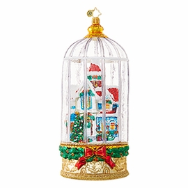(SOLD OUT) Snowy Victorian Cage