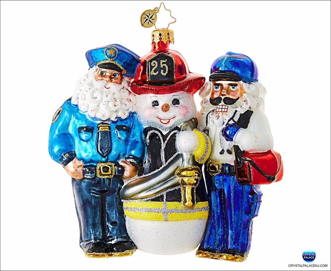 (SOLD OUT) Santa's First Responders POLICEMAN, FIREMAN & EMT