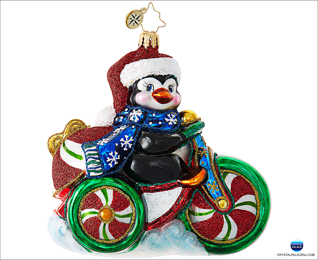 1019029 Christopher Radko Cool Tricycle! Christmas Ornament