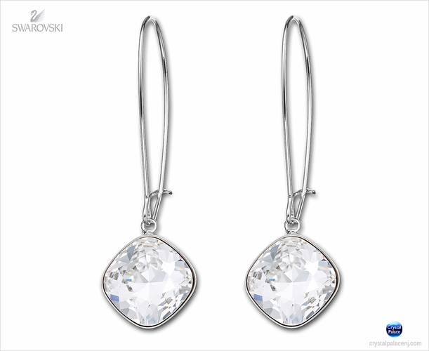 (SOLD OUT) Swarovski Thankful crystal  Pierced Earrings