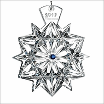 2017 Waterford Crystal Snowflake Wishes Friendship Christmas Ornament