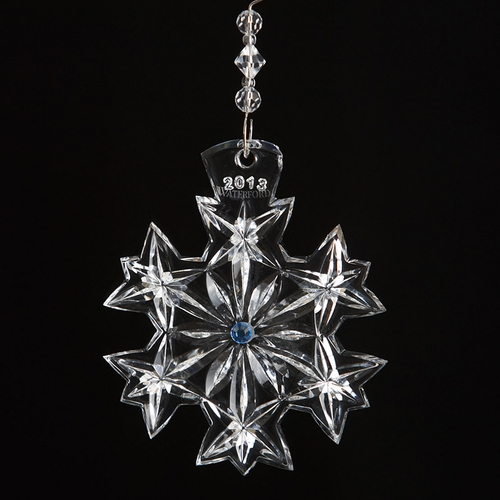 (SOLD OUT) 2013 Waterford Snowflake Wishes Goodwill Ornament