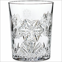 2014 Waterford Snowflake Wishes Peace Mooncoin DOF Glass