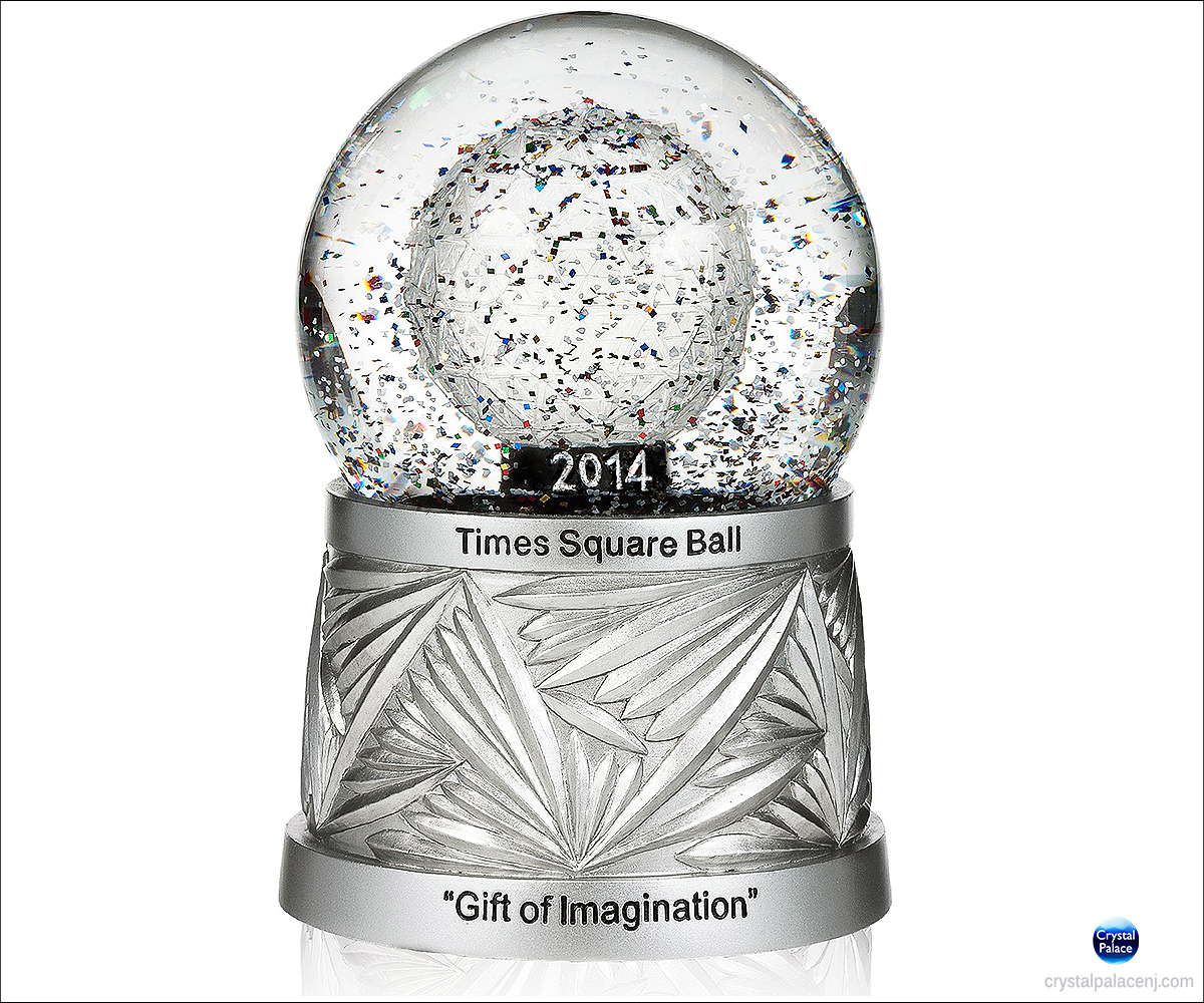 2014 Waterford Times Square Snow Globe