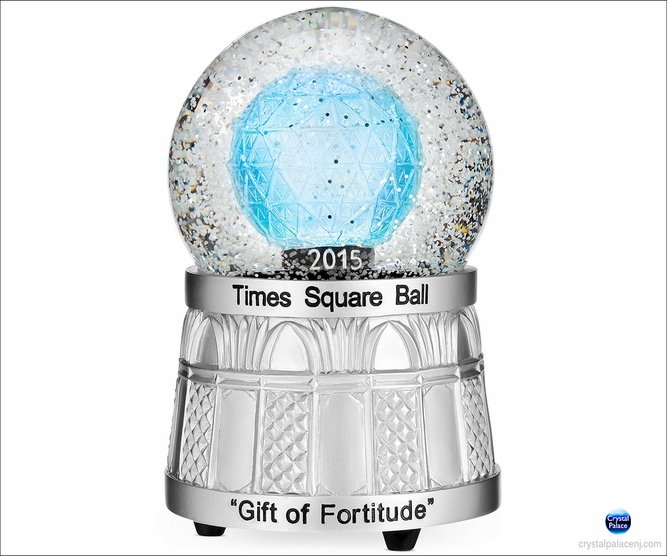 (SOLD OUT) 2015 Waterford Times Square Snow Globe