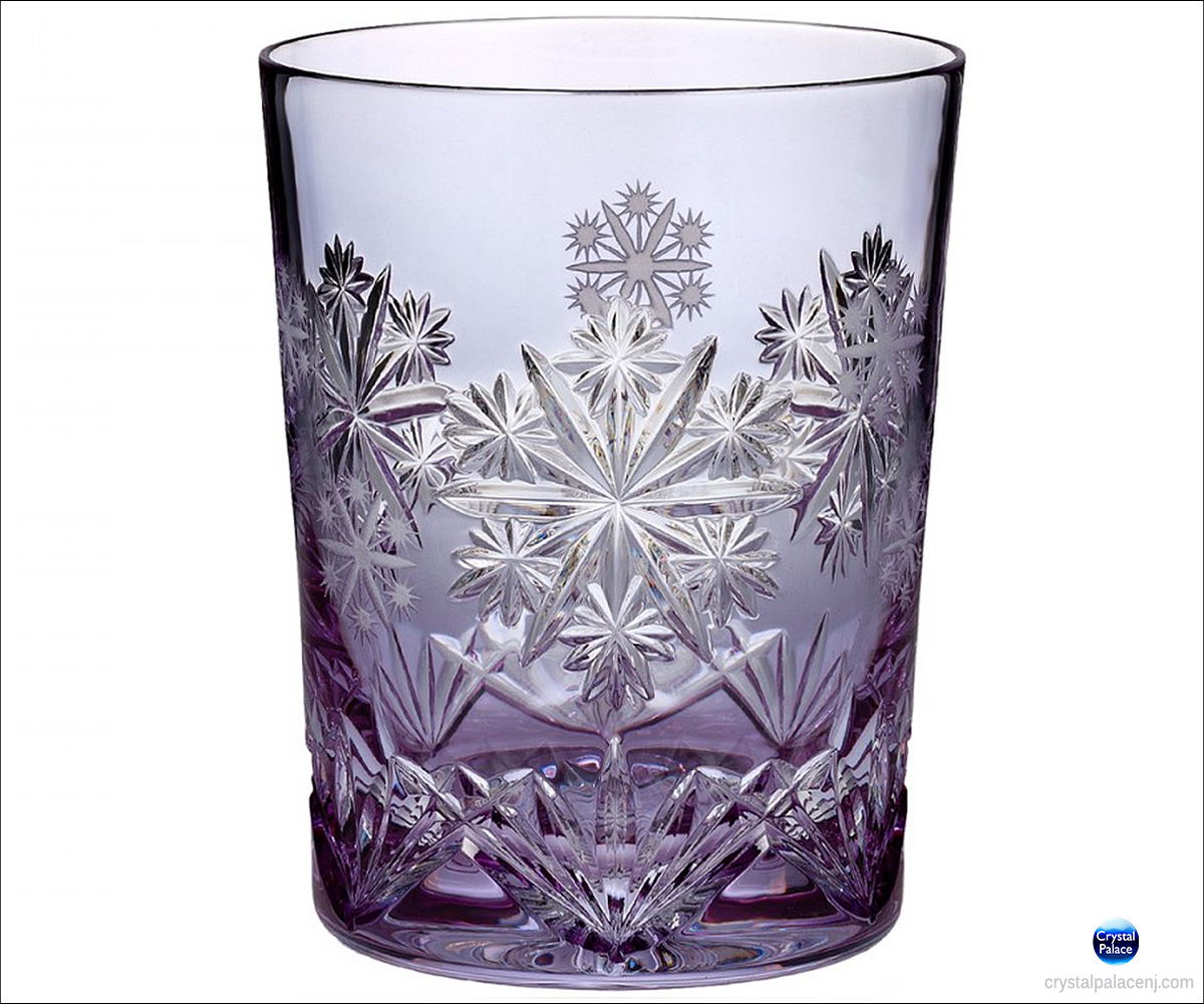 d067fd8fb7d1 2016 Waterford Snowflake Wishes Serenity Prestige DOF Glass, Lavender