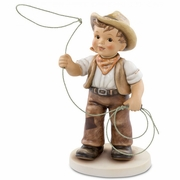 Country Figurine USA Rodeo Roundup