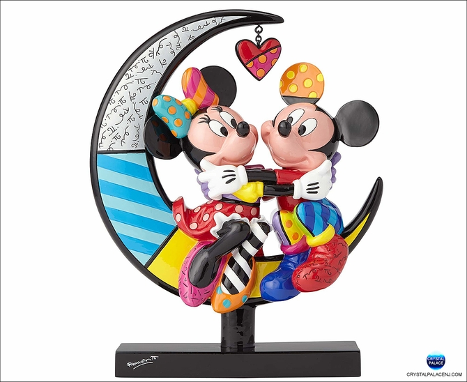 (SOLD OUT) Mickey and Minnie on Moon
