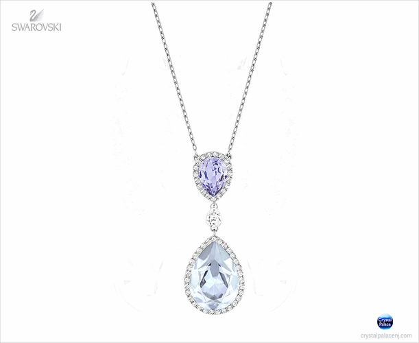 Swarovski Christie Double Pear Necklace