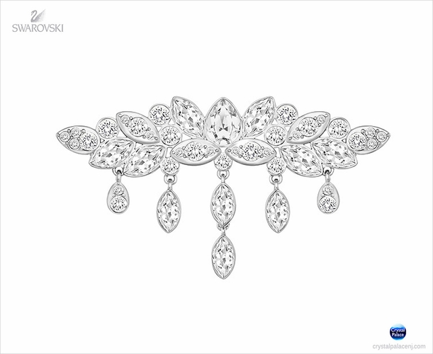 (SOLD OUT) Swarovski Diapason Brooch