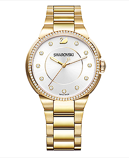 (SOLD OUT) City Yellow Gold Tone Bracelet Watch