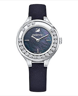 Lovely Crystals Mini Watch Black