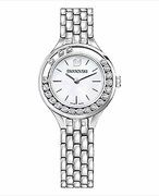Lovely Crystals Mini Watch Silver Tone