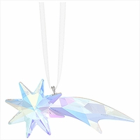 (SOLD OUT) Shooting Star Ornament, Crystal AB