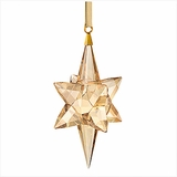 Star Ornament, Gold Tone, large