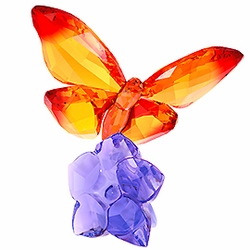 NEW<br> Butterfly on Flower