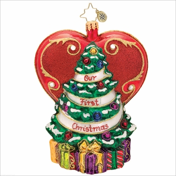 (SOLD OUT) A Tree From the Heart  Radko   Ornament