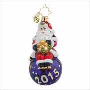 (SOLD OUT) A Year for Cheer Gem Radko Ornament