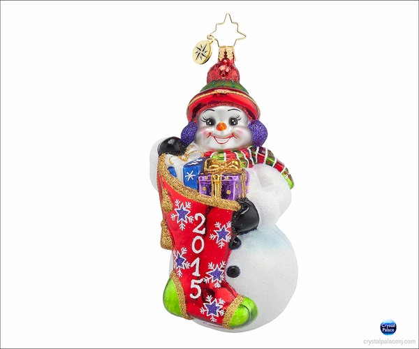 A Year to Give Radko Ornament