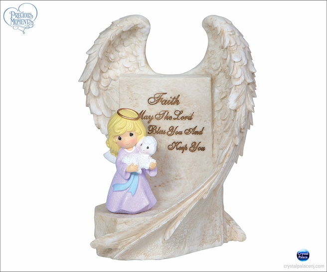 (SOLD OUT)Angel Wings - Angel Holding Lamb