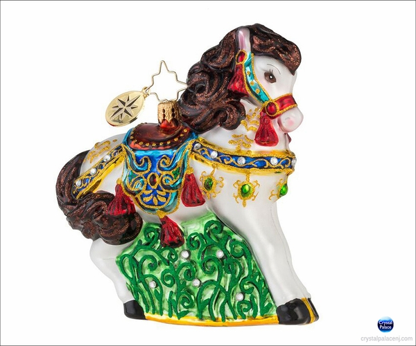 (SOLD OUT) Arabian Stallion Radko Ornament