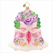 (SOLD OUT) Bells Will Be Ringing Radko  Ornament