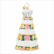 Bridal Centerpiece Radko Ornament