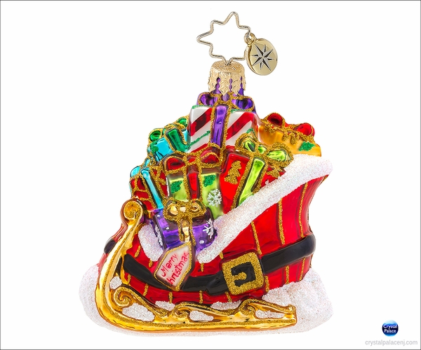 (SOLD OUT) Buckle Up for a Gift Ride Gem Radko Ornament