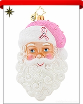 Charity Awareness Radko Ornaments
