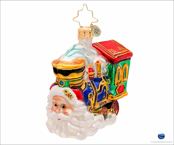 (SOLD OUT) Choo Choo Claus Gem