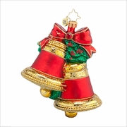 (SOLD OUT) Christmas Chimes Radko Ornament