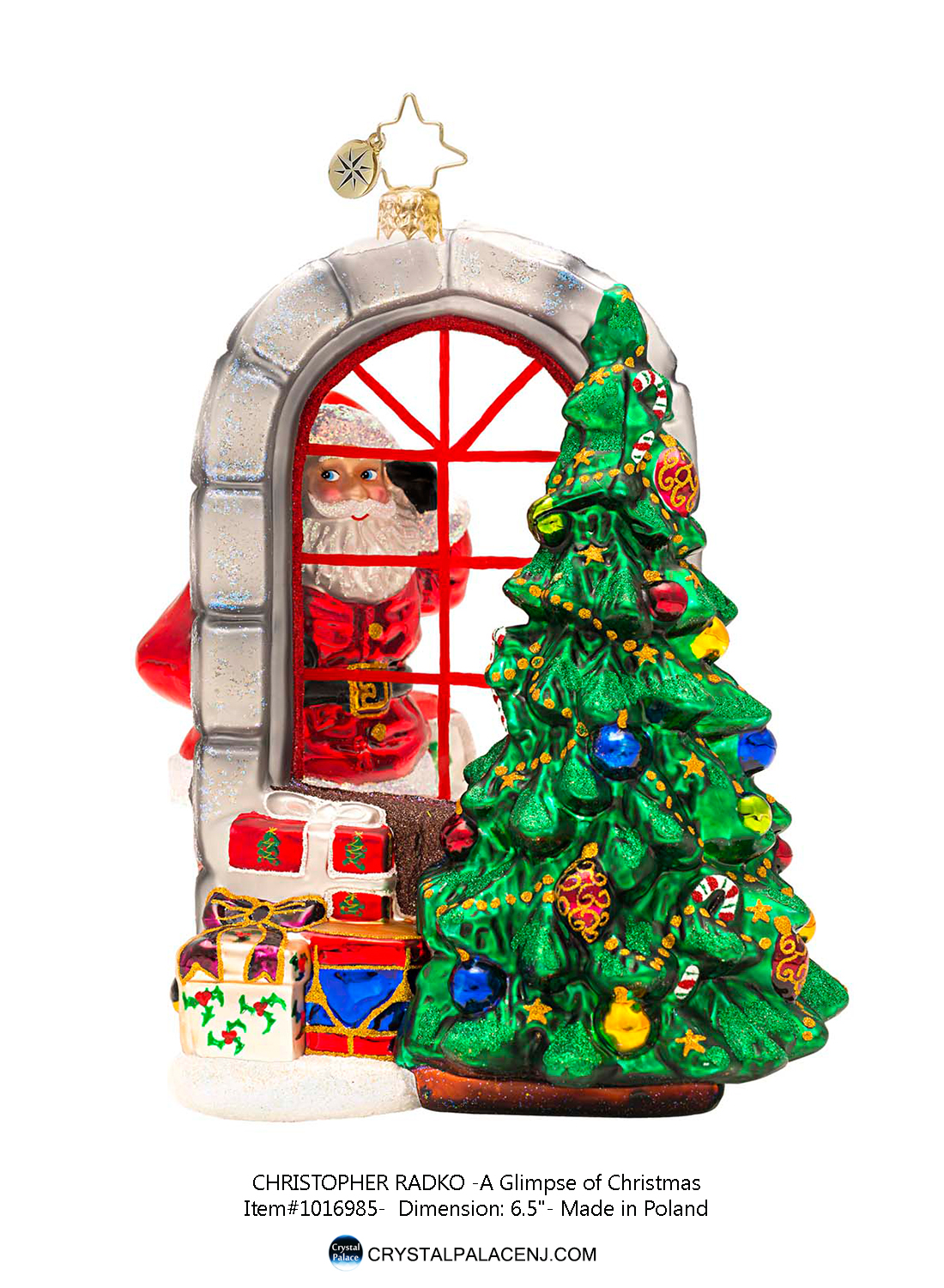 sold out a glimpse of christmas radko ornament